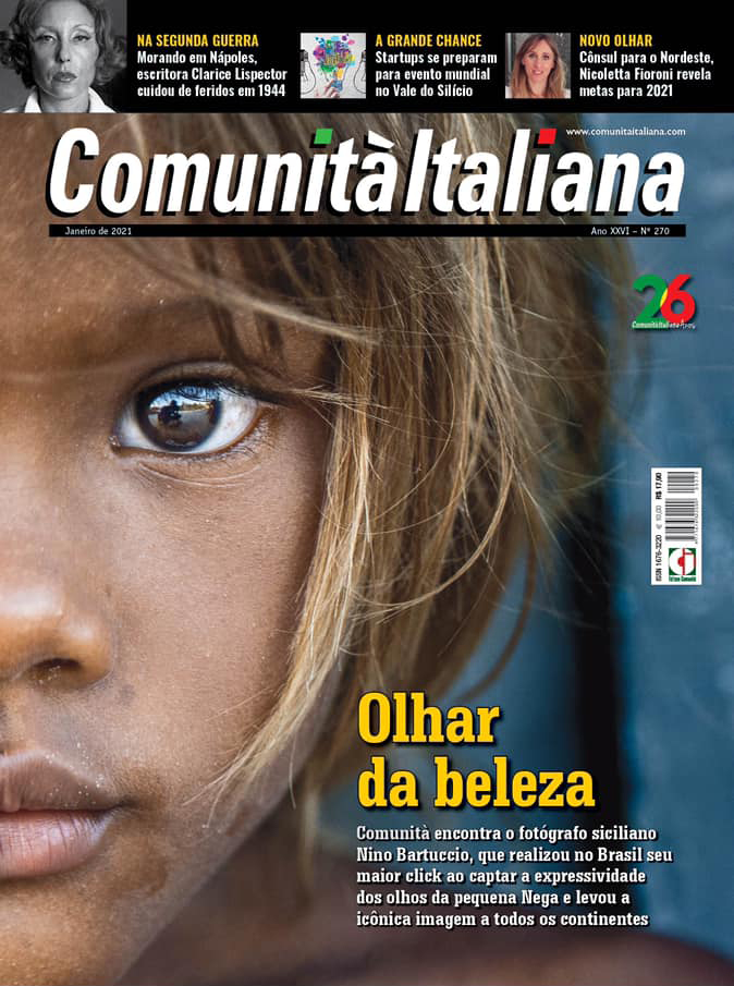 capa nega comunità italiana